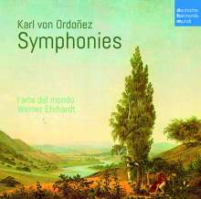 Karl von Ordonez (1734-1786): Symphonien C-Dur, D-Dur, f-moll, B-Dur, CD