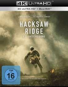 Hacksaw Ridge (Ultra HD Blu-ray & Blu-ray), 1 Ultra HD Blu-ray und 1 Blu-ray Disc