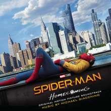 Michael Giacchino (geb. 1967): Filmmusik: Spider-Man: Homecoming (Original Motion Picture Soundtrack), CD