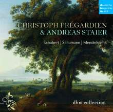 Christoph Pregardien & Andreas Staier (dhm Collection), 4 CDs