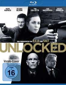 Unlocked (Blu-ray), Blu-ray Disc