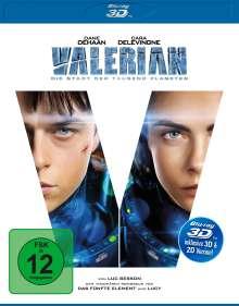 Valerian (3D Blu-ray), Blu-ray Disc