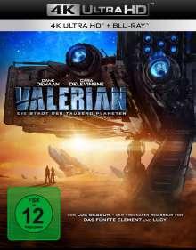 Valerian (Ultra HD Blu-ray & Blu-ray), 1 Ultra HD Blu-ray und 1 Blu-ray Disc