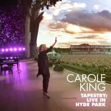 Carole King: Tapestry: Live in Hyde Park 2016, 1 CD und 1 Blu-ray Disc