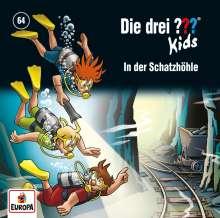 Die drei ??? Kids 64: In der Schatzhöhle, CD