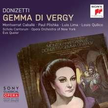 Gaetano Donizetti (1797-1848): Gemma di Vergy, 2 CDs