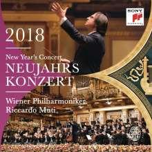 Neujahrskonzert 2018 der Wiener Philharmoniker, 2 CDs