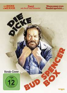 Die dicke Bud Spencer Box, 3 DVDs