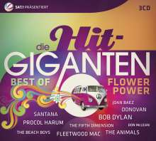 Die Hit-Giganten: Best Of Flower Power, 3 CDs