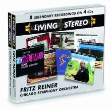 Fritz Reiner & Chicago Symphony Orchestra - RCA Living Stereo, 4 CDs