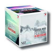 Klassische Musik Festivals in der Schweiz, 13 CDs