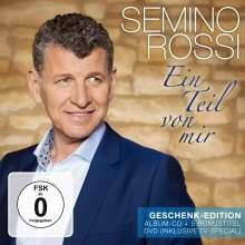 Semino Rossi: Ein Teil von mir (Geschenk-Edition), 1 CD und 1 DVD