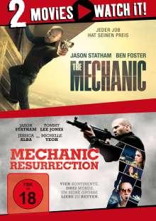 The Mechanic / Mechanic: Resurrection, 2 DVDs