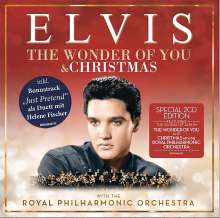 Elvis Presley (1935-1977): The Wonder Of You (Christmas-Edition), 2 CDs