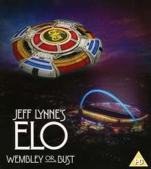 Jeff Lynne's ELO: Wembley Or Bust, 2 CDs und 1 Blu-ray Disc