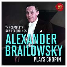 Alexander Brailowsky plays Chopin - The Complete RCA Recordings, 8 CDs