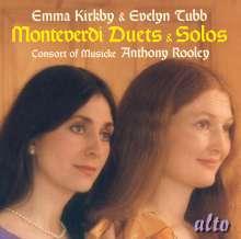 Emma Kirkby & Evelyn Tubb singen Monteverdi, CD