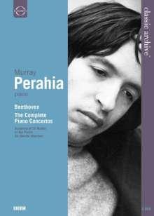 Murray Perahia  - Ludwig van Beethoven, 2 DVDs