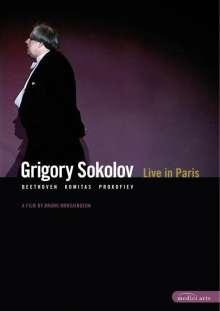 Grigory Sokolov - Live in Paris 2002, DVD