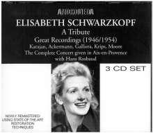 Elisabeth Schwarzkopf singt Arien & Lieder, 3 CDs