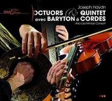 Joseph Haydn (1732-1809): Baryton-Oktette & Quintette, CD