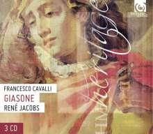 Francesco Cavalli (1602-1676): Giasone, 3 CDs
