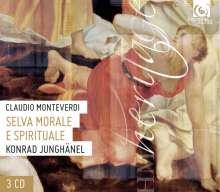 Claudio Monteverdi (1567-1643): Selva morale e spirituale (Gesamt-Aufnahme), 3 CDs