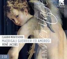 Claudio Monteverdi (1567-1643): Madrigali Guerrieri ed Amorosi, 2 CDs