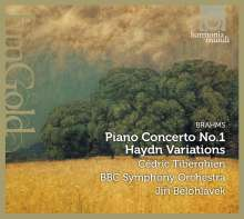 Johannes Brahms (1833-1897): Klavierkonzert Nr.1, CD