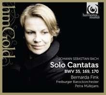 Johann Sebastian Bach (1685-1750): Kantaten BWV 35,169,170, CD