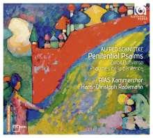 Alfred Schnittke (1934-1998): Psalms of Repentance (Bußpsalmen), CD