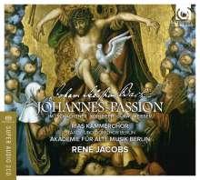Johann Sebastian Bach (1685-1750): Johannes-Passion BWV 245, 2 Super Audio CDs und 1 DVD