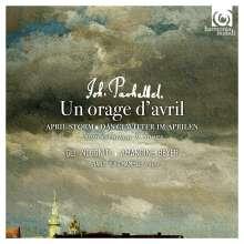 Johann Pachelbel (1653-1706): Un Orage d'Avril - Suiten, Canon, Lieder, CD
