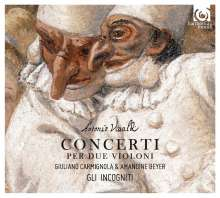 Antonio Vivaldi (1678-1741): Konzerte für 2 Violinen RV 505, 507, 510, 513, 527, CD