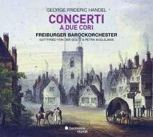Georg Friedrich Händel (1685-1759): Doppelchörige Orchesterkonzerte Nr.1-3, CD
