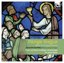 Clare College Choir Cambridge - Pange Lingua (Music for Corpus Christi), CD