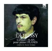 Claude Debussy (1862-1918): Das Klavierwerk, 5 CDs