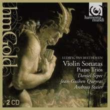 Ludwig van Beethoven (1770-1827): Klaviertrios Nr.3 & 5, 2 CDs