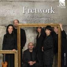 Johann Sebastian Bach (1685-1750): Fretwork - A Viol Consort plays Johann Sebastian Bach, 4 CDs