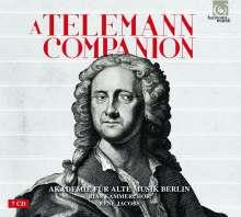 Georg Philipp Telemann (1681-1767): A Telemann Companion (Akademie für Alte Musik Berlin), 7 CDs