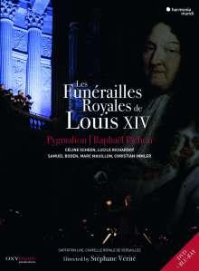 Les Funerailles Royales de Louis XIV, 1 DVD und 1 Blu-ray Disc