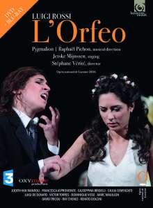 Luigi Rossi (1598-1653): L'Orfeo, 1 Blu-ray Disc und 1 DVD