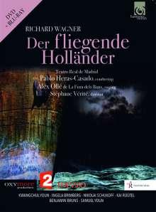 Richard Wagner (1813-1883): Der Fliegende Holländer, 1 DVD und 1 Blu-ray Disc
