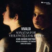 Antonio Vivaldi (1678-1741): Sonaten für Cello & Bc RV 40,41,43,45-47, CD