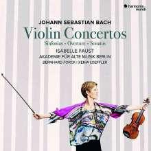 Johann Sebastian Bach (1685-1750): Violinkonzerte BWV 1042,1043,1052,1056, 2 CDs