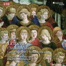 Johann Sebastian Bach (1685-1750): Kantaten BWV 63,91,121,133, 2 CDs