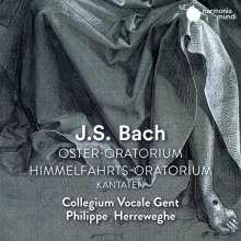 Johann Sebastian Bach (1685-1750): Osteroratorium BWV 249, 2 CDs