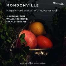 Jean-Joseph Cassanea de Mondonville (1711-1772): Pieces de Clavecin avec Voix et Violon op.5, CD