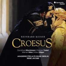 Reinhard Keiser (1674-1739): Croesus, 3 CDs