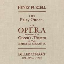 Henry Purcell (1659-1695): The Fairy Queen (180g), 3 LPs